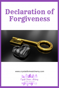 Declaration of Forgiveness