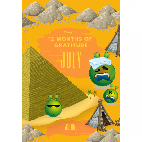 Ready for 12 Months Of Gratitude: July