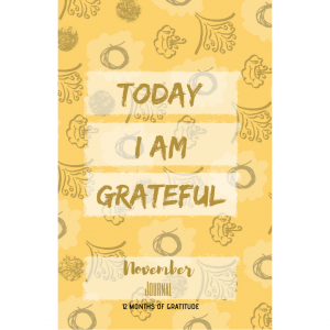 11. Today I am grateful