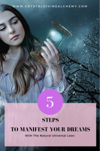 5 steps to manifest your dreams_Pin
