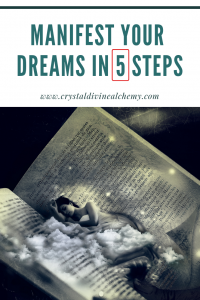 Manifest your dreams in 5 steps_Pin