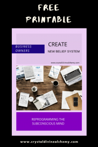Create New Belief System: Business Owner