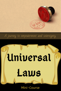 Universal Laws mini course.6