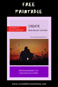 Create New Belief System: Romantic Relationship