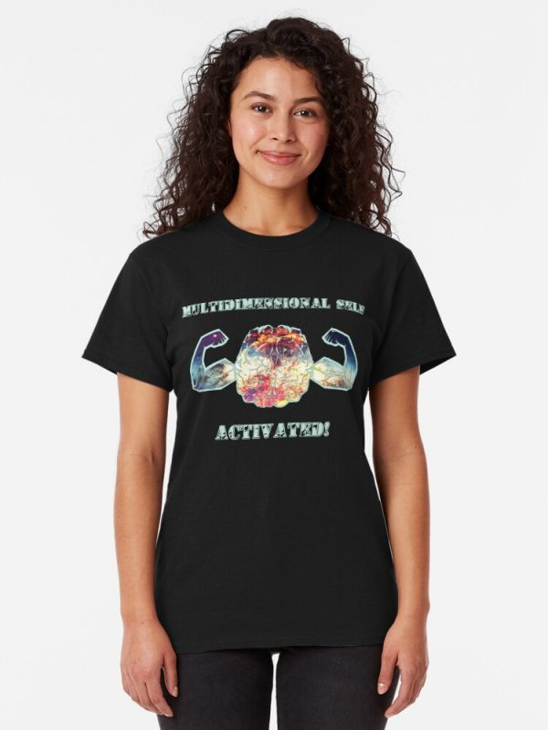 Multidimensional Self Activated Classic T-Shirt