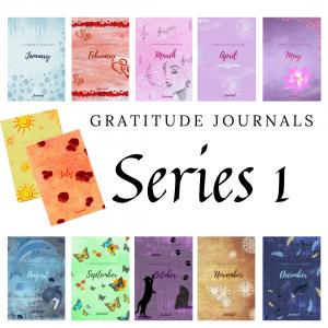 Gratitude Journals Series 1